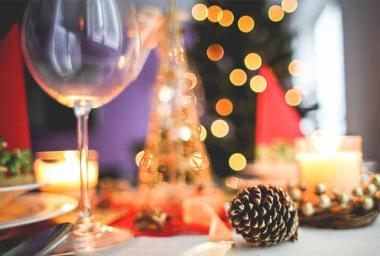Algunas ideas para poner bonita la mesa en navidad