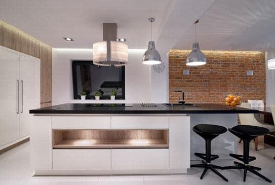 Cómo unificar la cocina con el salón
