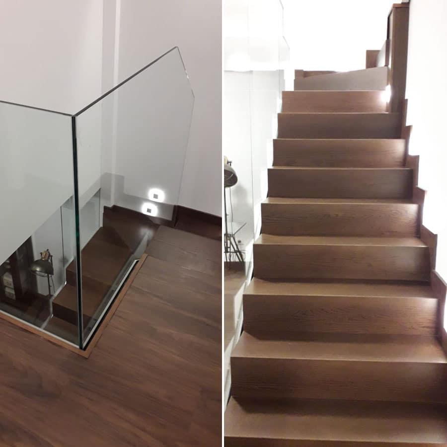 Revestimiento de escaleras