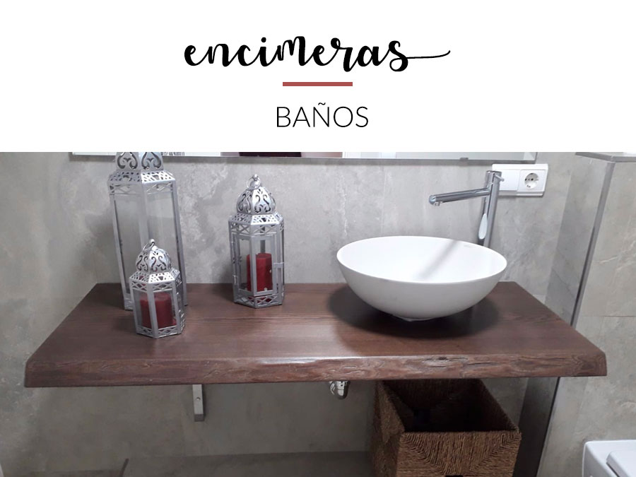 Actualiza tu baño con el lavabo sobre encimera