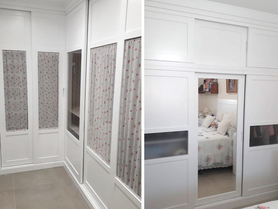 Diseñamos tus armarios de puertas correderas para espacios reducidos