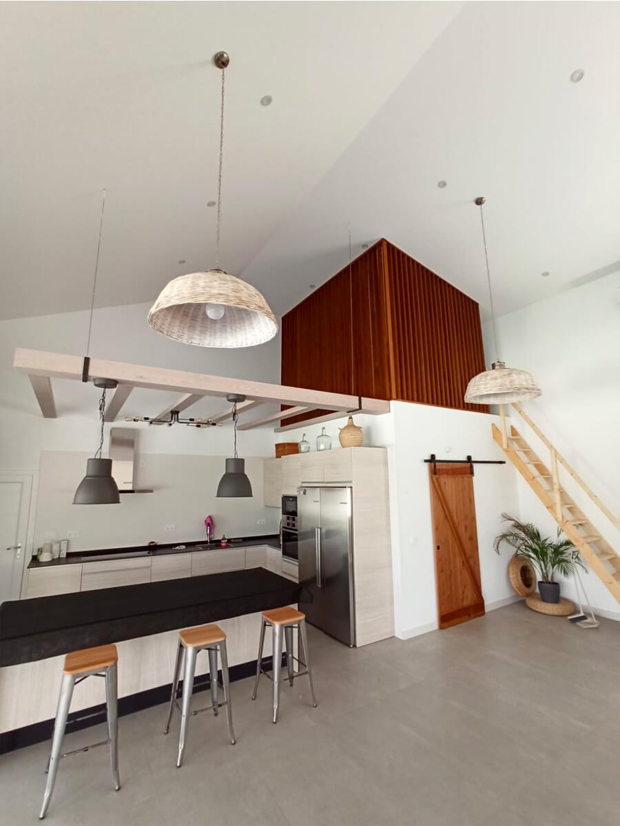 Celosía para decorar techos altos